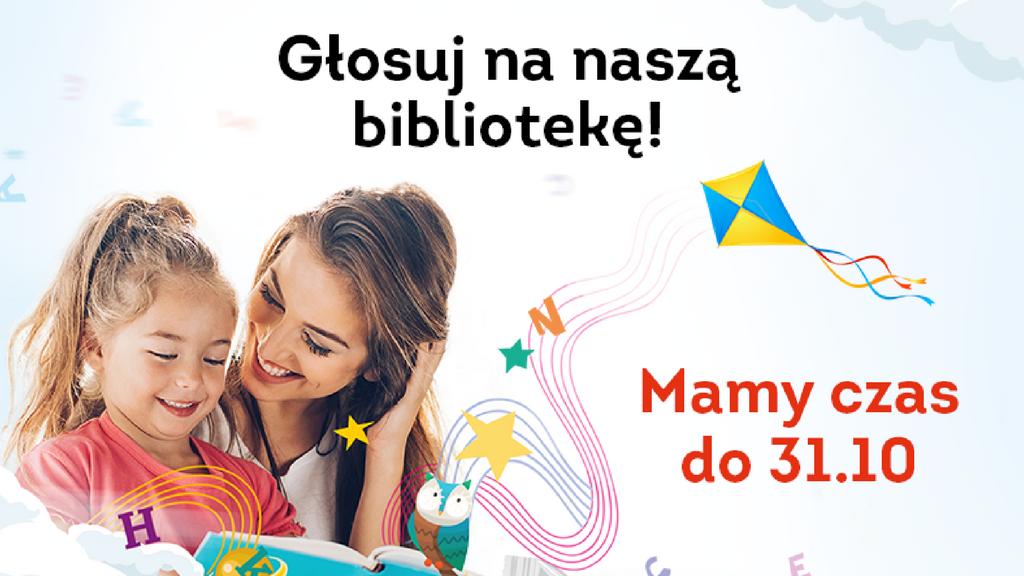 Głosuj na naszą bibliotekę!