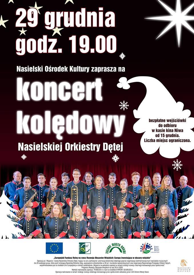 Koncert Kolędowy w wykonaniu Nasielskiej Orkiestry Dętej