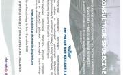Plakat konsultacje społeczne linii kolejowej 1