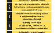 Praca Filii Wydziału Komunikacji i Transportu w Nasielsku Starostwa Powiatowego